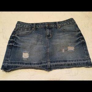 SO brand junior mini jean skirt. BUNDLE ONLY 3/$10